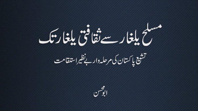 مسلح یلغار سے ثقافتی یلغار تک تشیع پاکستان کی مرحلہ وار بے نظیر استقامت ابو محسن
