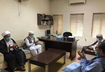 ملی یکجہتی کونسل کے وفد کے وفد کی شیخ محسن کے فرزند سے ملاقات و تعزیت