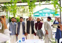 گلگت بلتستان کے نگراں وزیر محمد علی قائد کا آبائی علاقےمیں پرتپاک ا ستقبال