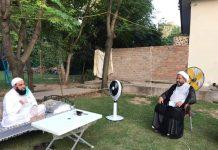 علامہ عارف واحدی کی علامہ افتخار حسین نقوی کی عیادت