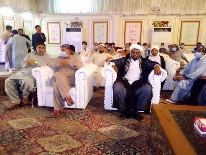 شکارپور مسجد تنازعہ کے حل کے لئے نشست شیعہ علماء کونسل پاکستان شریک