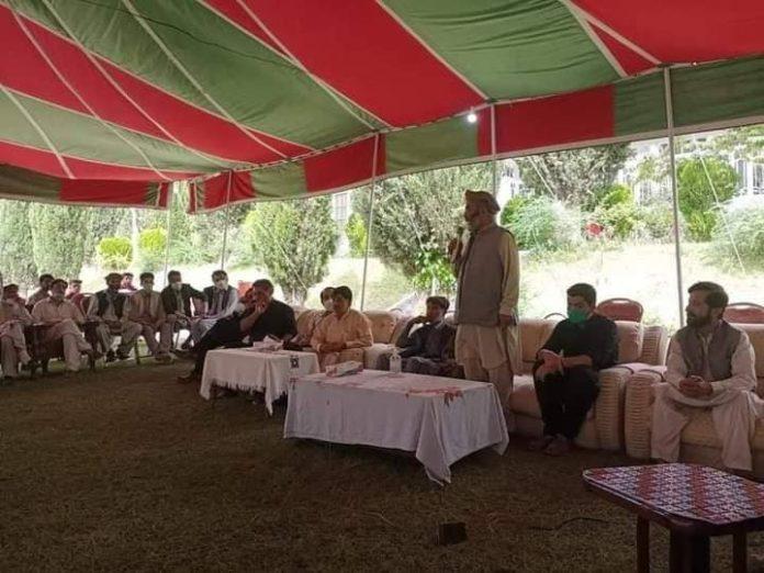 اسلامی تحریک پاکستان کے وفد کی پیر کرم علی کی وفات پر تعزیت