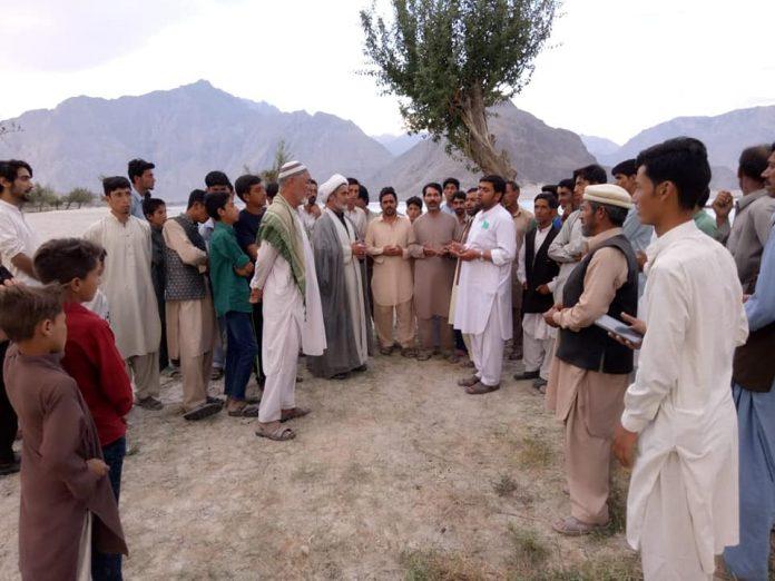 اسلامی تحریک پاکستان اسکردو کے وفد کا سترنک محلہ کا دورہ