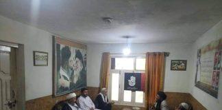 سینئر رہنما اسلامی تحریک علامہ شیخ میرزا علی کی سربراہی میں تنظیمی رہنماوں کا اہم اجلاس.