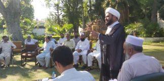 علامہ حمید امامی کا کوہاٹ میں جرگہ میں خطاب