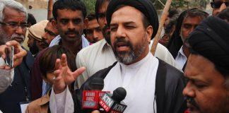 خیرپور انتظامیہ ضلع میں امن و امان کی صورتحال خراب کرنے میں ملوث ہو رہی ہے ، علامہ سید اسد اقبال زیدی