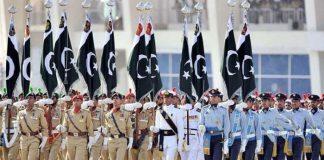 ملک بھر میں یوم دفاع بھرپور جوش و جذبے کیساتھ منایا جا رہا ہے