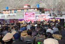 شہید ضیاء الدین رضوی کی ۱۶ ویں برسی امپھری گلگت میں منعقد ہوئی