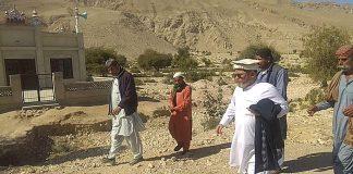 بلوچستان قائد ملت جعفریہ کی ہدایت پر مسجد کا افتتاح