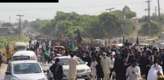 تحفظ عزا لانگ مارچ کل سندھ بھر سے قافلے کراچی کی طرف روانہ ہونگے