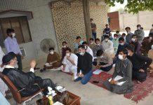 قائد ملت جعفریہ سے جے ایس او پاکستان کے مرکزی عاملہ کے اراکین سے ملاقات
