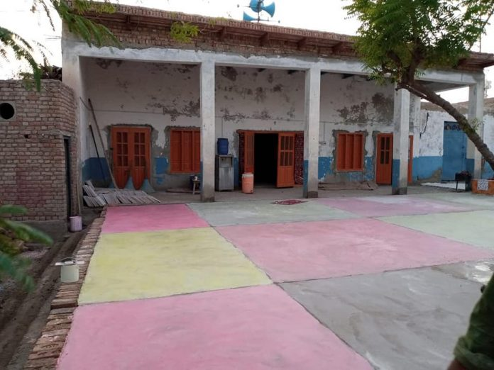 جعفرآباد بلوچستان قائد ملت جعفریہ پاکستان کی جانب سے امام بارگاہ کی تعمیر مکمل