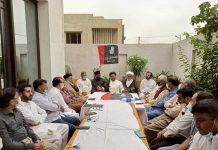 شیعہ علماء کونسل سندھ کے زیر اہتمام آمد محرم کے سلسلے میں اہم اجلاس کراچی میں منعقد