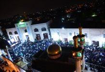 تاسوعائے حسینی پر سیاہ پوش پاکستان