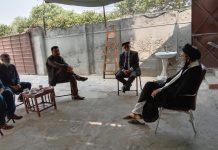 قائد ملت جعفریہ پاکستان کی نو منتخب رکن اسمبلی گلگت بلتستان ایوب وزیری سے ملاقات