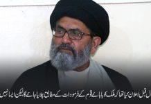 بابائے قوم کے روشن اصولوں سے روگردانی کے باعث وطن عزیز مشکلات کا شکار ہے، قائد ساجد نقوی