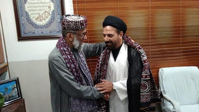 شیعہ علماء کونسل سندھ پاکستا کے صدر کی مولانا ابولخیر سے ملاقات