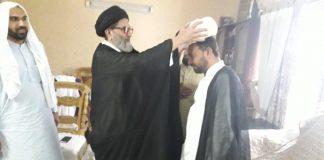 قائد ملت جعفریہ پاکستان آیت اللہ سید ساجد علی نقوی نے علماء کی عمامہ گزاری کی