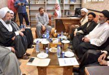 ایران آیت اللہ سید ساجد علی نقوی سے آیت اللہ ہادوی تہرانی کی ملاقات
