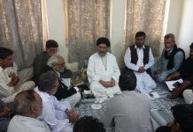 قائد ملت جعفریہ علامہ ساجد علی نقوی کی زیر صدرات تنظیمی نشست منعقد ہوئی