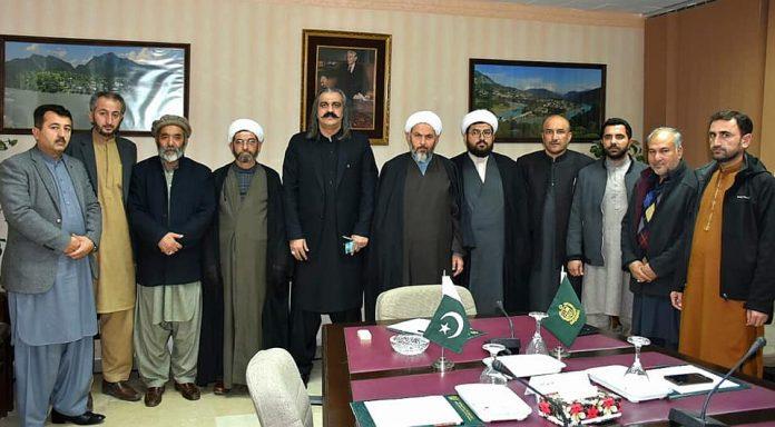 اسلامی تحریک پاکستان کے وفد کی وفاقی وزیر امور کشمیر و گلگت بلتستان سے ملاقات