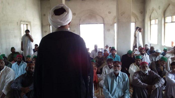 قائدملت جعفریہ و زہرا اکیڈمی کے تعاون سے مسجد تعمیر نماز جمعہ سے افتتاح