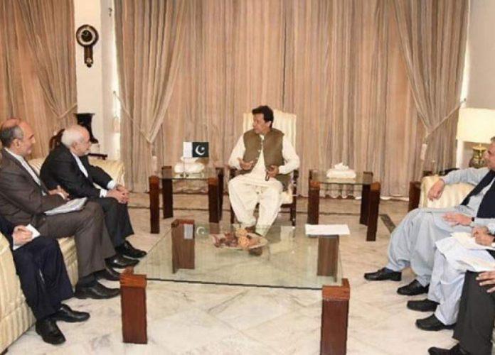 ایرانی وزیر خارجہ کیایرانی وزیر خارجہ کی پاکستانی وزیر اعظم سے ملاقات پاکستانی وزیر اعظم سے ملاقات