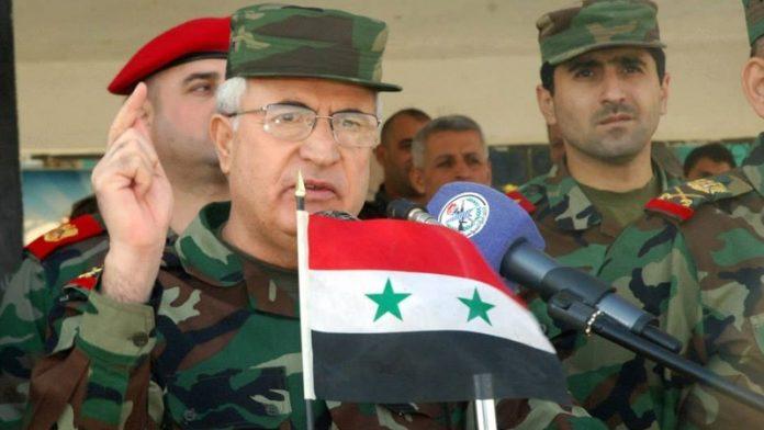 دہشت گردوں کی شکست یقینی ہے، شام کے وزیر دفاع