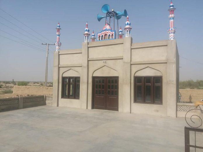 بلوچستان جھل مگسی قائد ملت جعفریہ پاکستان کی جانب سے ایک ۵ مساجد کی تعمیر مکمل