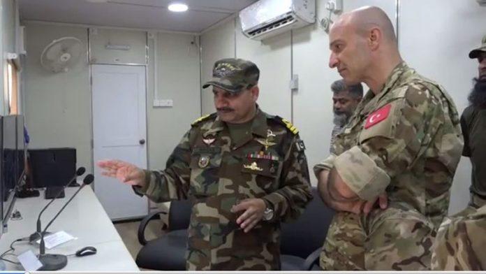 پاکستان اور ترکی کی بحری افواج کی مشترکہ مشق