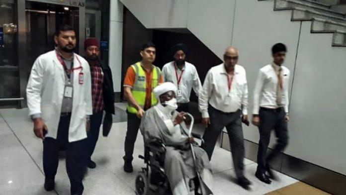 نئی دہلی کے مدانتا اسپتال میں آیت اللہ زکزکی کا علاج شروع
