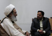 آٰیت اللہ شیخ محسن نجفی سے مرکزی صدر جے ایس او ذیشان شمسی کی ملاقات