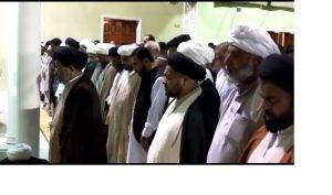 حجتہ الاسلام آقائے شیخ یوسف علی نفسی نجفی کی نمازہ جنازہ کراچی میں ادا کردی گئی