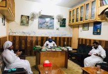 علامہ عارف حسین واحدی کی علامہ افتخار نقوی سے ملاقات