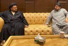 علامہ ناظر عباس تقوی کی وزیر بلدیات ناصر شاہ سے ملاقات و تعزیت