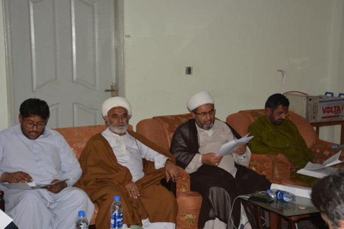 جعفریہ اسٹوڈنٹس کے اراکین مجلس نظارت کا اجلاس اسلام آباد میں منعقد ہوا