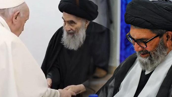 آیت اللہ العظمی سیستانی سے پاپائے اعظم کی ملاقات رواداری کاواضح پیغام ہے