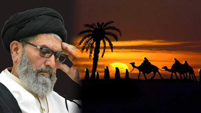 مکمل ضابطہ حیات اسلام کی سربلندی کیلئےنواسہ پیغمبر نے مدینہ کو خیرباد کہا