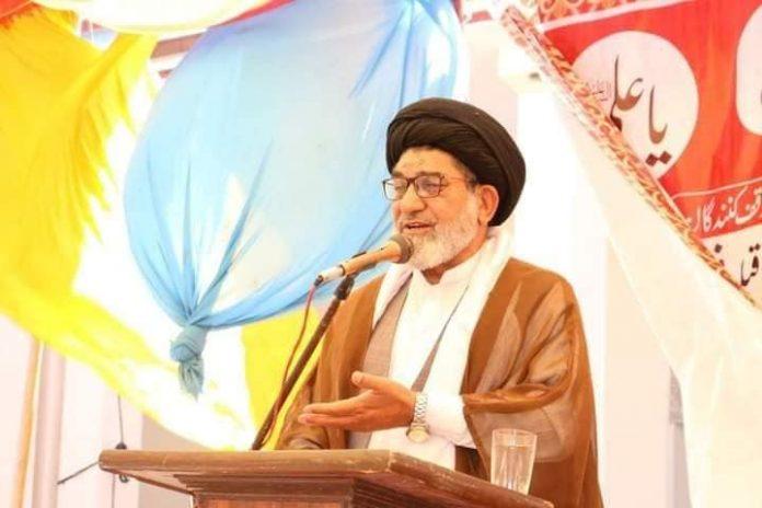 مدرسہ صادقین کا افتتاح علامہ تقی شاہ نقوی کی تقریب افتتاح میں شرکت