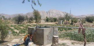 ونگو۔۔۔۔۔بلوچستانقائد ملت جعفریہ پاکستان کی سرپرستی میں پانی کا منصوبہ مکمل