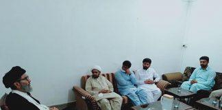 قائد ملت جعفریہ پاکستان علامہ ساجد علی نقوی سے گجرات کے اعلی وفد کی ملاقات