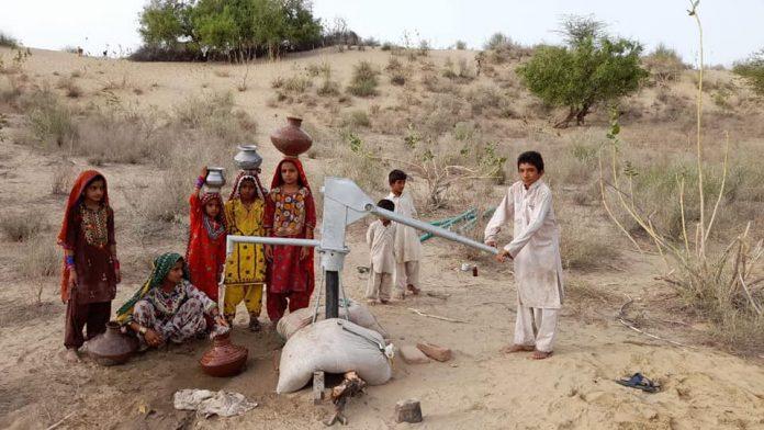 قائد ملت جعفریہ کی جانب سے تھرپارکر میں پینے کے پانی کا منصوبہ مکمل