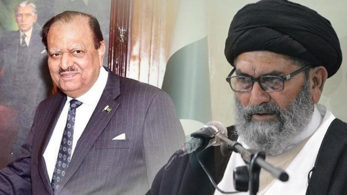 قائد ملت جعفریہ پاکستان کا سابق صدر مملکت ممنون حسین کےا نتقال پر افسوس