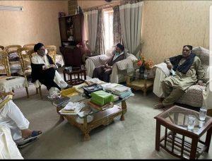 قائد ملت جعفریہ پاکستان علامہ ساجد نقوی سے آزاد کشمیر کے وفد کی ملاق
