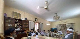 قائد ملت جعفریہ پاکستان سے تنظیمی شخصیات کی ملاقات