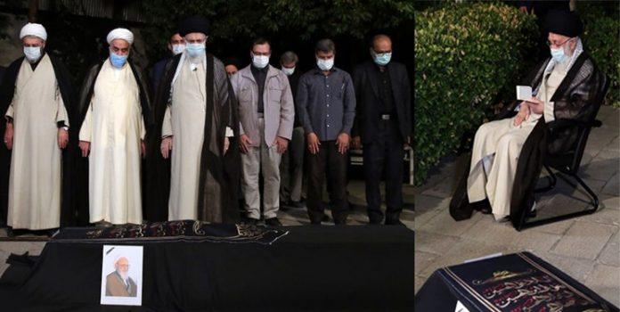 رہبر انقلاب اسلامی نے علامہ حسن زادہ آملی کی نماز جنازہ ادا کر دی