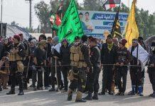 زائرین اربعین کی سکیورٹی کے لیے حشد الشعبی کے تقریبا 10 ہزار رضاکار تعینات