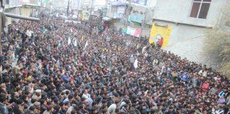 اسکردو چہلم شہدائے کربلا پر لاکھوں عزادار جلوس عزا میں شریک
